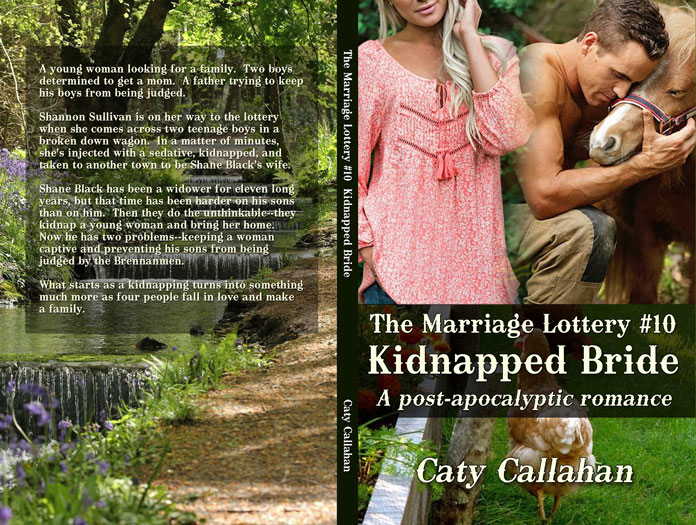 Marriage Lottery 10 Kidnapped Bride by Caty Callahan | Sweet Christian Romances
