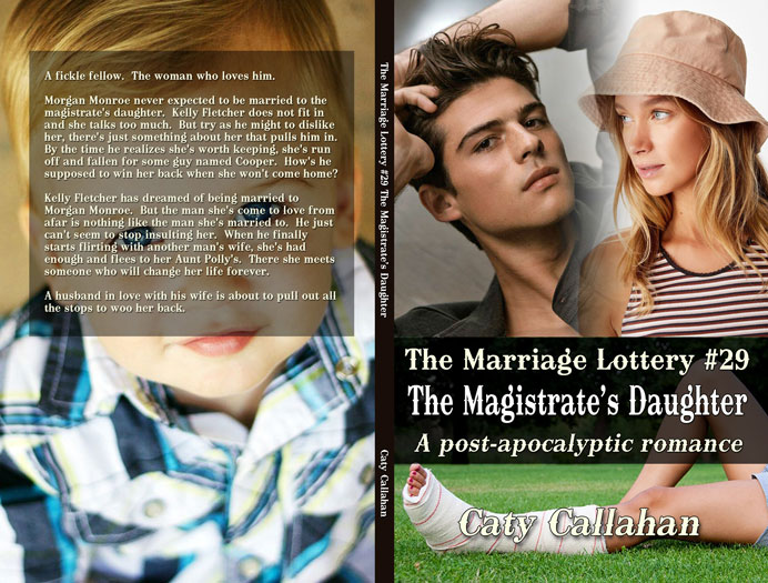 Marriage Lottery 29 The Magistrate's Daughter by Caty Callahan | Sweet romances for couples